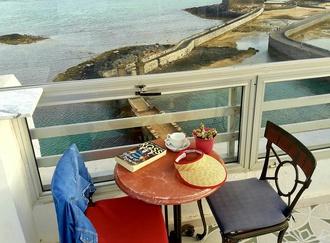 Terrace of the restaurant Hotel Miramar